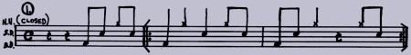 drumming pattern